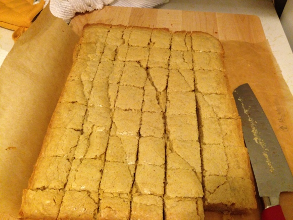 Brown. Butter. Blondies.