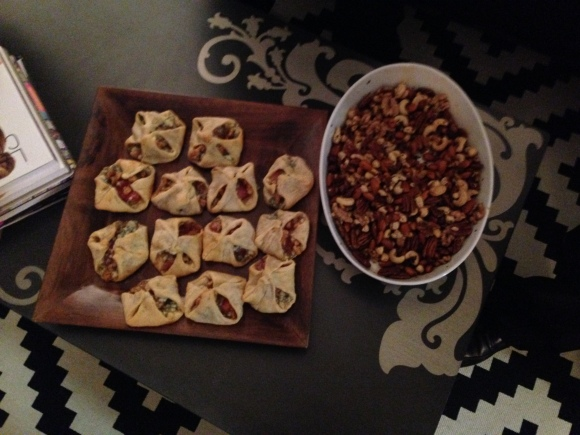 Blurry Southern Samosas and Nut Mix, y'all