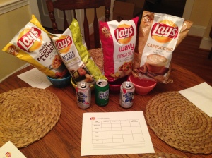 Chip Tasting with a PBR palate cleanser